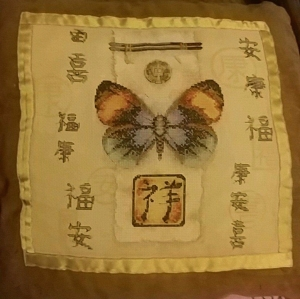 butterfly pillow